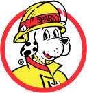 Image of Sparky the Fire Dog, official mascot of the NFPA