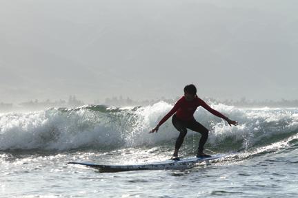 Wang-surfing
