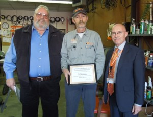 Facilities Services January 2014 Employee of the Month Gary Robertson