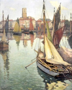La Rochelle, painted in 1914 by Georges Charpentier