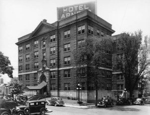 Hotel Arnold_before