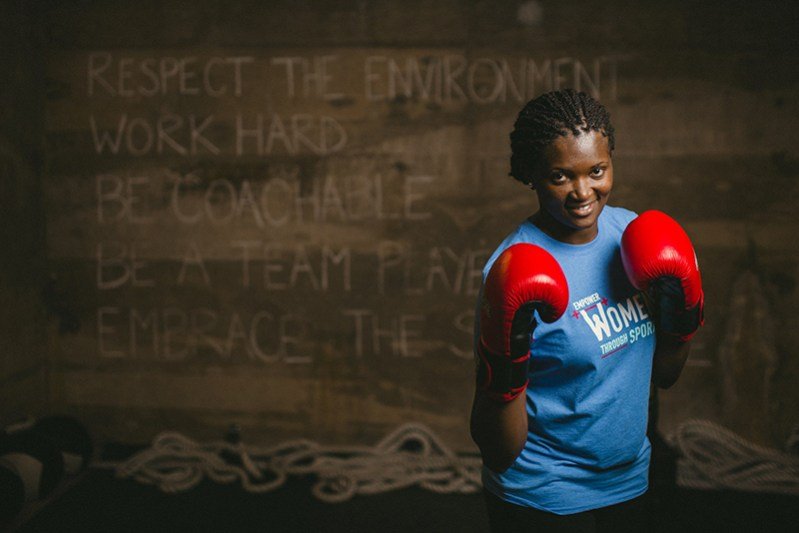 Cynthia Coredo from Kenya