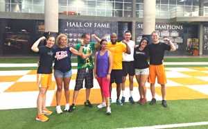 Venezuelan coaches visit UT