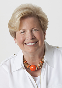 Joan Cronan, women's athletics director emeritus, and speaker at the College of Communication and Information's Spring Commencement 2016.