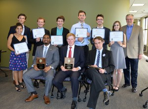 Winners of the 2016 Graves Undergraduate Business Plan Competition