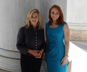 Laura Lauder with U.S. Rep. Marsha Blackburn of Tennessee.