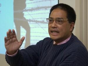 Renato Cruz De Castro, professor of International Studies at De La Salle University in the Philippines.