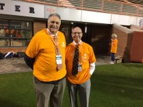 UT Facilities Services' Roy Warwick and Dave Irvin.