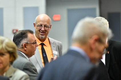 Members of the University of Tennessee Board of Trustees meet in Hollingsworth Auditorium at the University of Tennessee Institute of Agriculture in Knoxville, Tenn., Thursday, June 22, 2017. (Adam Brimer / University of Tennessee)