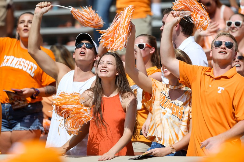 KNOXVILLE, TN - 2017.09.23 - Tennessee vs. UMass