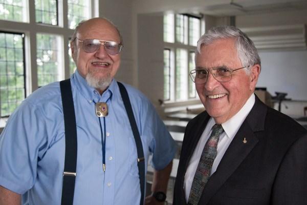 Larry Taylor and Jack Schmitt