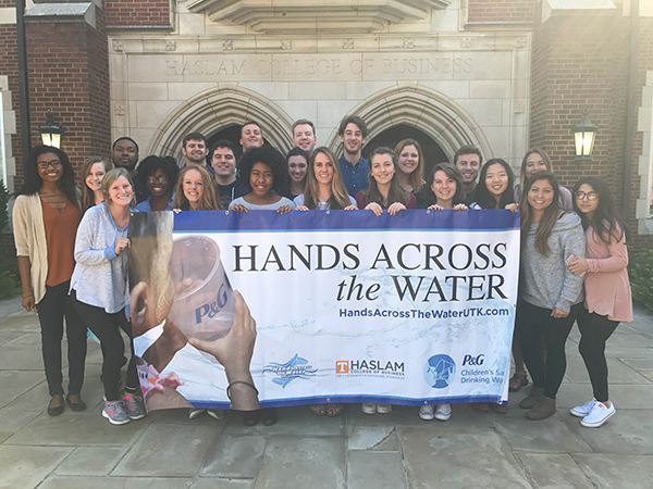 UT's Hands Across the Water team.