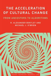 """An image of the cover of the book """"The Acceleration of Cultural Change"""