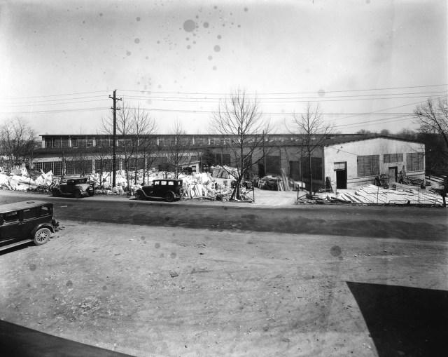 Facilities Services historical photograph