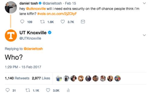 Daniel Tosh Tweet
