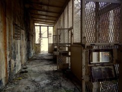 Strolling through Brushy Mountain State Penitentiary, which operated from 1896 to 2009, and was known as the Alcatraz of the South.