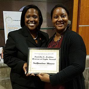 Tanisha Jenkins and NaQuaina Moore