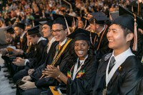 Graduates of the University of Tennessee's Tickle College of Engineering participate in Commencement at Thompson-Boling Arena on Thursday, May 10, 2018...Photo by Erik Campos