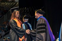 Graduates of the University of Tennessee's College of Agricultural Sciences and Natural Resources participate in their commencement at Thompson-Boling Arena on Friday, May 11, 2018...Photo by Erik Campos