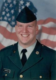 Army Specialist G. Daniel Harrison