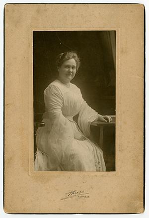 portrait photograph of Virginia P. Moore