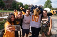 Freshman picnic for the University of Tennessee August 19, 2018. Photo by Steven Bridges - http://stevenbridges.com