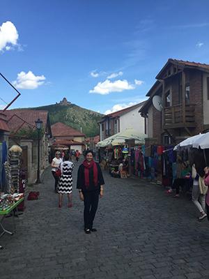 Neisler in Tbilisi, in the Republic of Georgia.