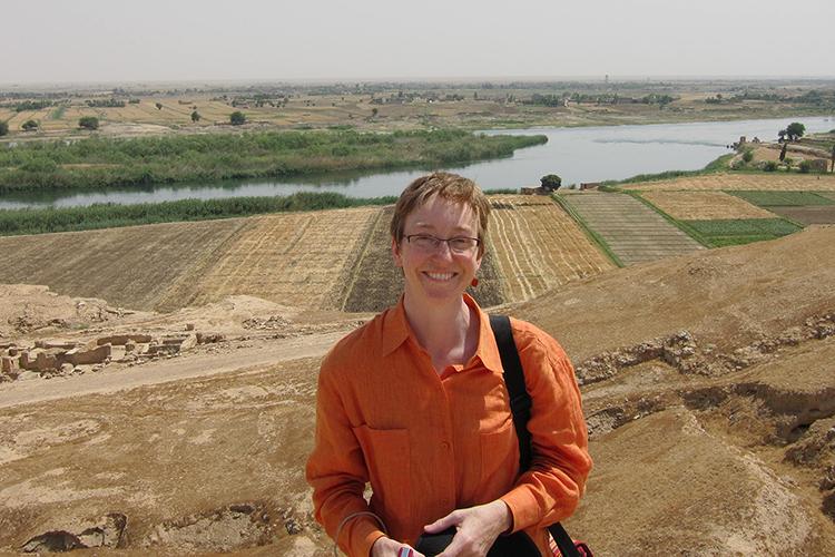 Tina Shepardson, associate professor of religious studies.