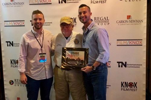 Tim Morris and Isaac Fowler, Knox Film Festival