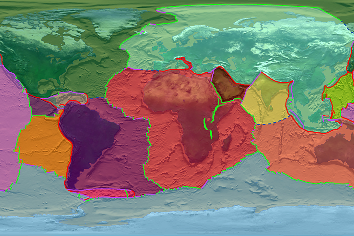 Study Plate Tectonics May Have Been Active On Earth Since