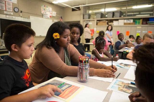 University-Assisted Community Schools program at Pond Gap Elementary