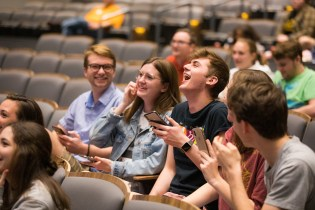 Rocky Top Trivia during the Student Union Grand Opening at Student Union on March 29, 2019. Photo by Steven Bridges