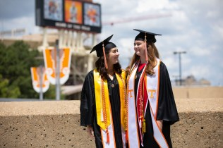 College of Law Commencement inside Thompson-Boling Arena on May 10, 2019. Photo by Steven Bridges.
