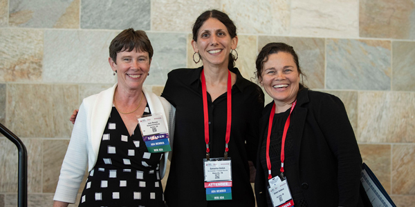 San Francisco, CA - ADA 2019 - Jane Reusch, Samantha Ehrlich and Darleen Sandoval during WIN ADA Networking Reception  at the American Diabetes Association's 79th Annual Meeting here today, Friday June 7, 2019. More than 18,000 physicians, researchers, health care professionals and patient advocates are expected to attend the 79th Annual Meeting which highlights the latest findings in all major areas of the diabetes research and treatment field. Photo by © ADA/Nick Agro 2019 Contact Info: todd@medmeetingimages.com