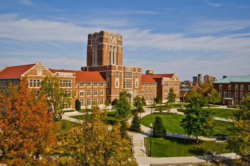 Beauty shot of Ayres Hall