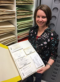 Jessica Budke, director of the UT Herbarium (TENN)