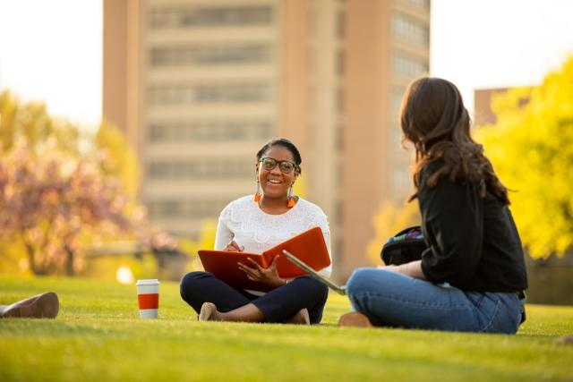 Lifestyle portrait in the  for Alumni Advancement Communications