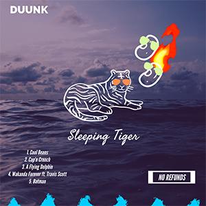 An album cover designed by DUUNK participants