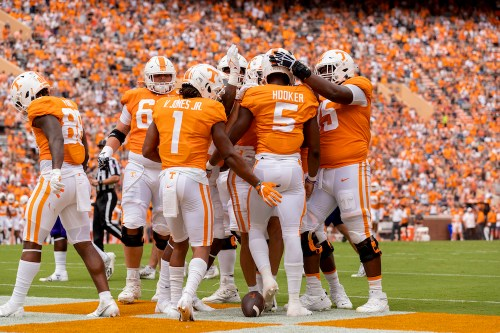 KNOXVILLE, TN - 2021.09.18 - Tennessee vs. Tennessee Tech
