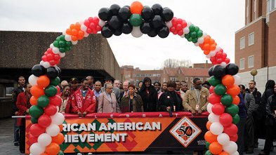 March for the 50th Anniversary of African-American Achievement