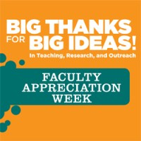 Faculty Appreciation Week