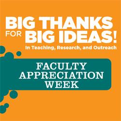 Faculty Appreciation Week