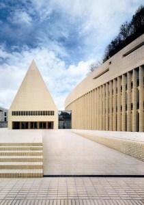 Liechtenstein state capitol forum and parliament