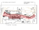 Drawing of closure of section of Melrose Avenue