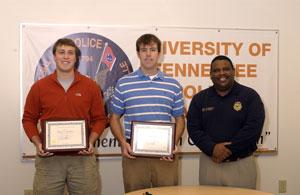 Scott Boughton and Ryan Copeland receive honor