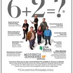 Advertisement featuring the Tennessee Governor's Chair Program appearing in the Chronicle of Higher Education.