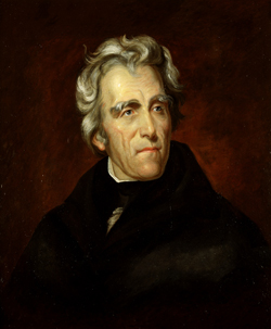 President Andrew Jackson (Click for large version)