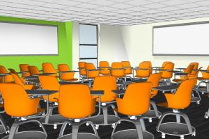 HSS classroom rendering