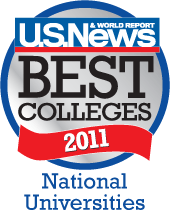 U.S. News and World Report Best Colleges 2011
