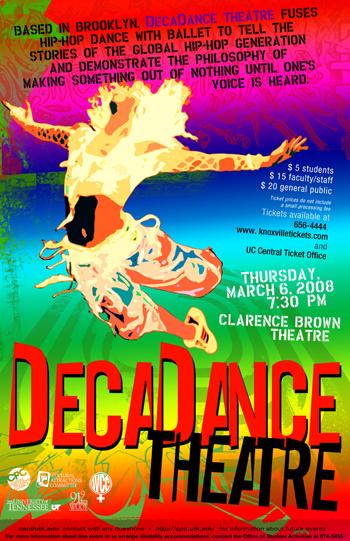 Decadancetheatre dancer